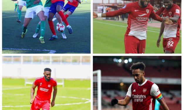 Sport-Europe Afrique express: OBissa et Aron Boupenza dans les top du weekend, pierre emerick aubameyang dans les flops