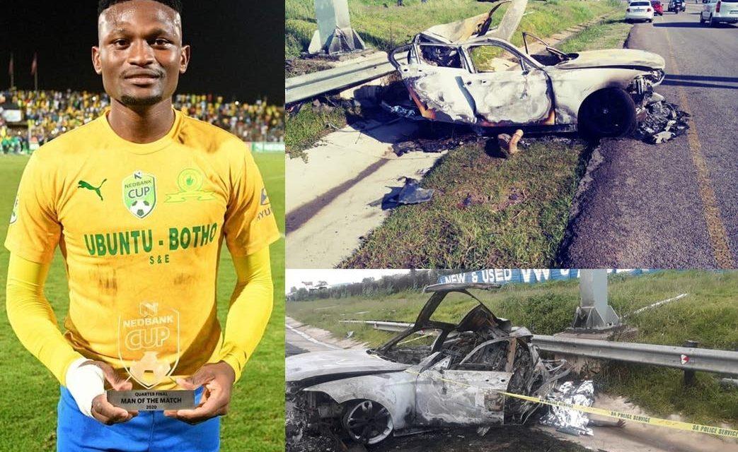 Football : L'international sud-africain Motjeka Madisha est mort dans un accident à 25 ans