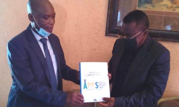 Gabon-Sports et médias: Le bureau de l'Association des Professionnels de la Presse reçu en audience par le président Taty