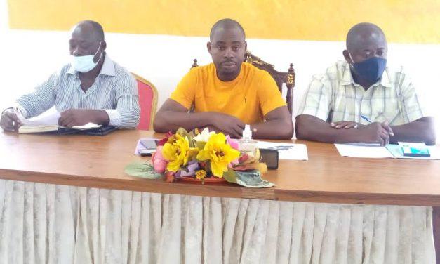Estuaire-Football: point de presse du candidat Désiré Bakita sur l'organisation de l'élection