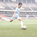 Congo- Brazzaville /Football-Féminin: Déborah Ngalula claque un doublé pour ses débuts de la ligue 1 féminine