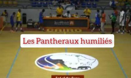 EGYPTE-AFRO-BASKET: LES PANTHERAUX HUMILIÉS 137-47